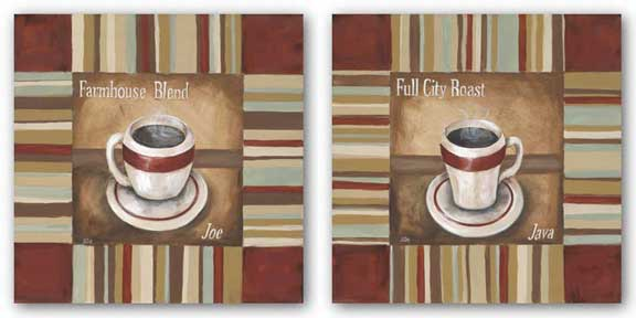 Full City Roast and Farmhouse Blend Set by Garden Street Gallery