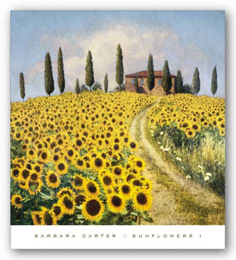 Sunflowers I by Barbara Carter