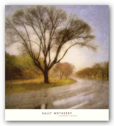 Autumn Road by Sally Wetherby