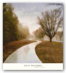 Autumn Path by Sally Wetherby
