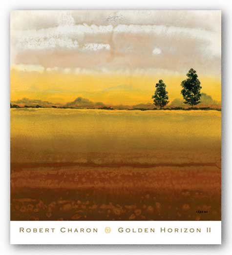 Golden Horizon II by Robert Charon