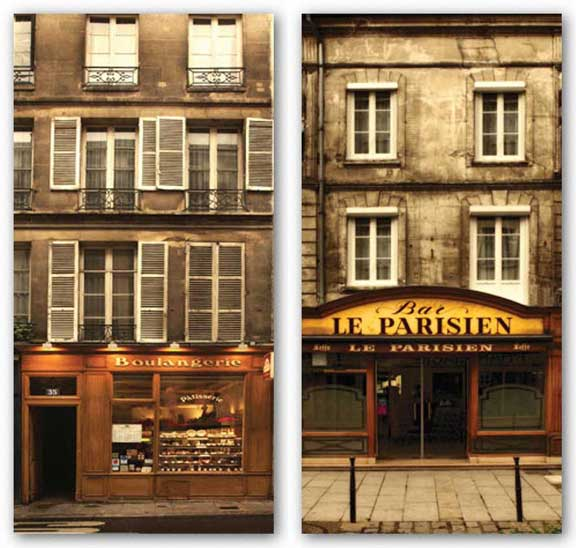 Parisien and Boulangerie Set by Jim Chamberlain