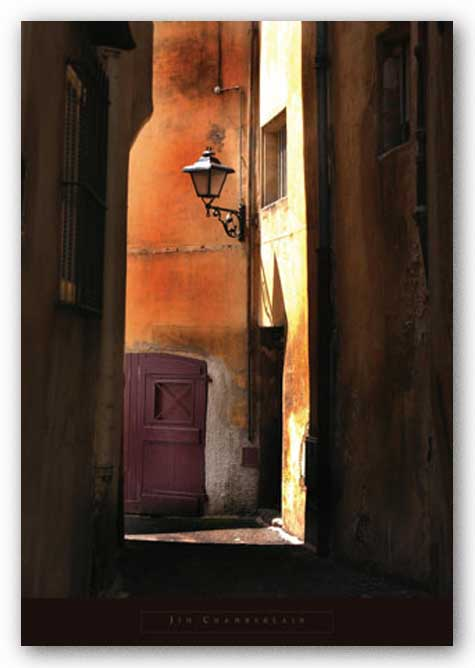 Siena Alley II by Jim Chamberlain