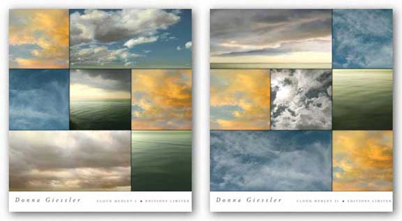 Cloud Medley Set by Donna Geissler