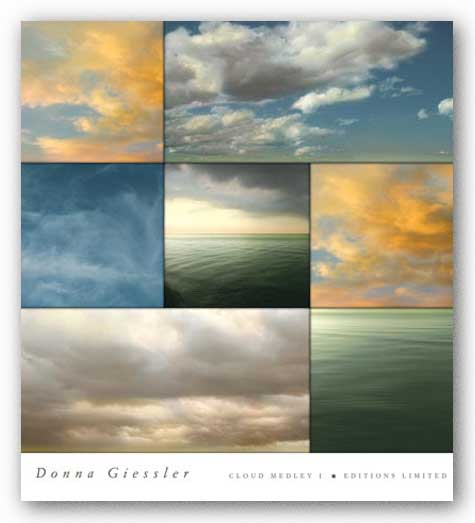 Cloud Medley I by Donna Geissler