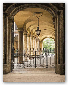 Courtyard Colonnade by Kenneth Gregg