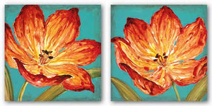 Flame Tulip Set by Karen Leibrick