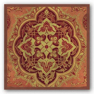 Persian Tiles I by Paula Scaletta