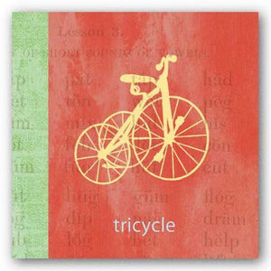 Vintage Toys Tricycle by Paula Scaletta