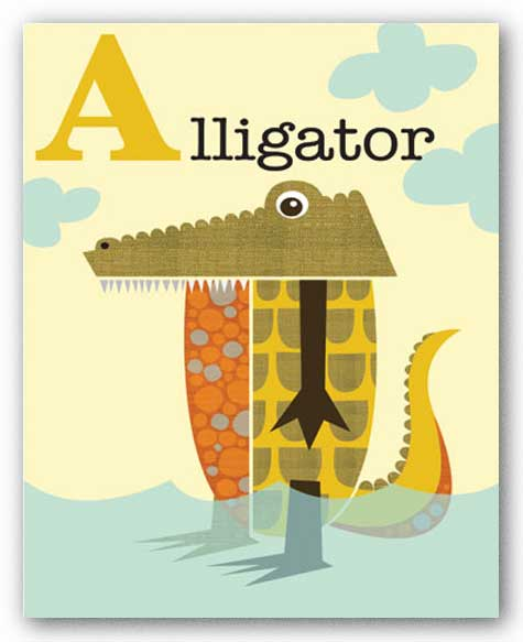 Alligator by Jenn Ski