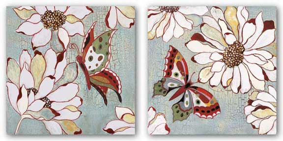 Vintage Butterfly Set by Lee Speedwell