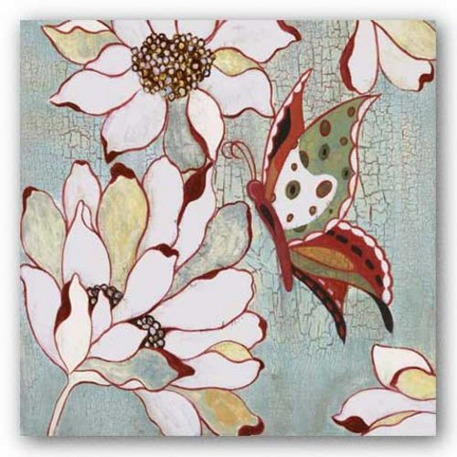 Vintage Butterfly I by Lee Speedwell
