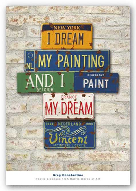 Vincent, Dream (Van Gogh - I Dream My Painting and I Paint My Dream) by Greg Constantine