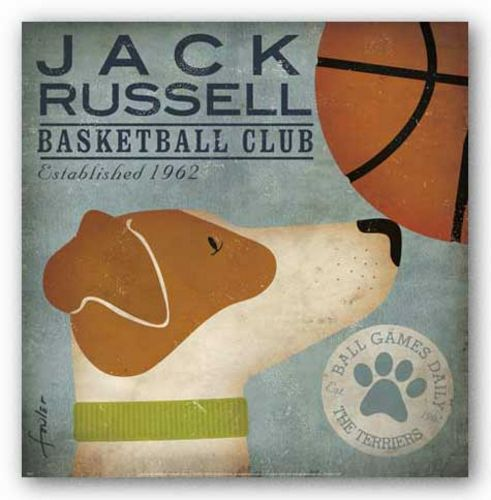 Jack Russell Basketball Club by Stephen Fowler