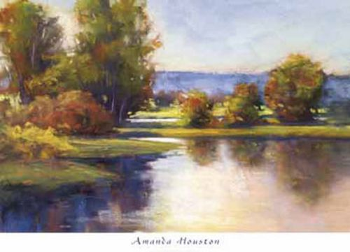 Lake View 1 by Amanda Houston