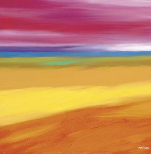 Prairie Abstract 1 by Mary Johnston