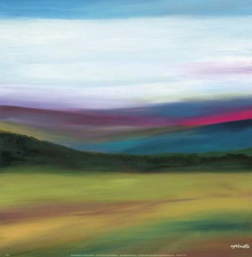 Prairie Abstract 4 by Mary Johnston