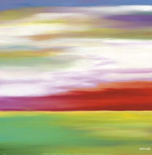Prairie Abstract 11 by Mary Johnston