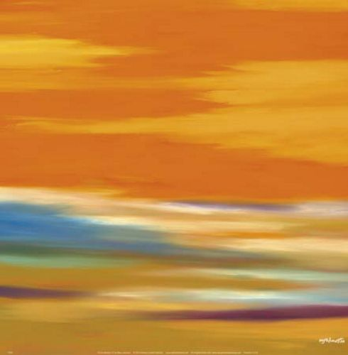 Prairie Abstract 12 by Mary Johnston