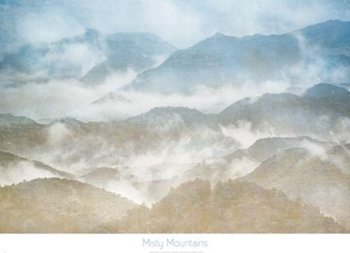 Misty Mountains by Harold Davis