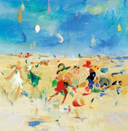 Beach Play 1 by Jossy Lownes