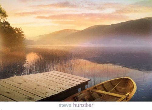 Morning on the Lake by Steve Hunziker