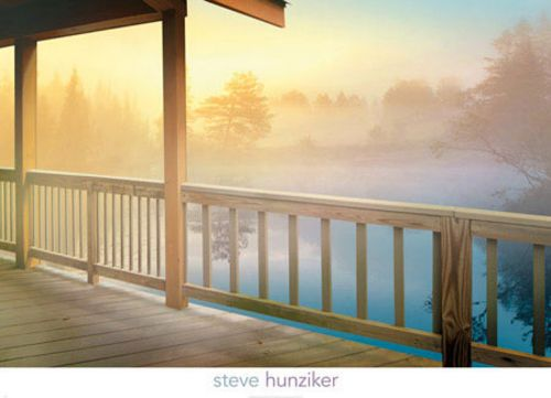 Lodge Deck by Steve Hunziker