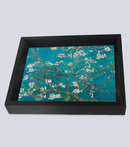"Almond Blossom 10""x8"" 3D Shadowbox by Vincent Van Gogh"