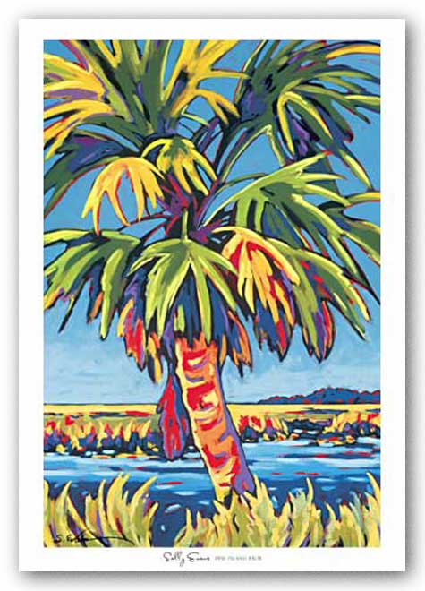 Pine Island Palm by Sally Evans
