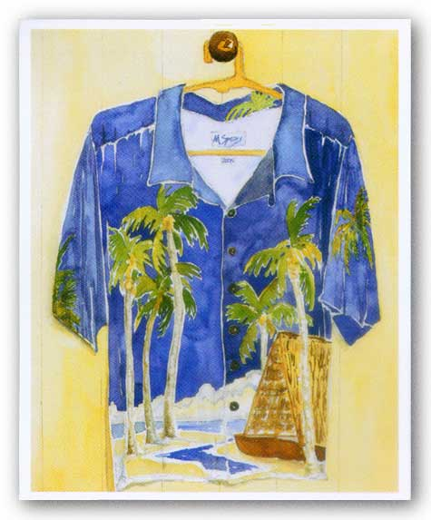 Hawaiian Shirt II by Mary Spears