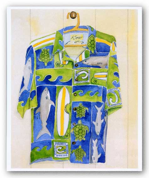 Hawaiian Shirt IV by Mary Spears