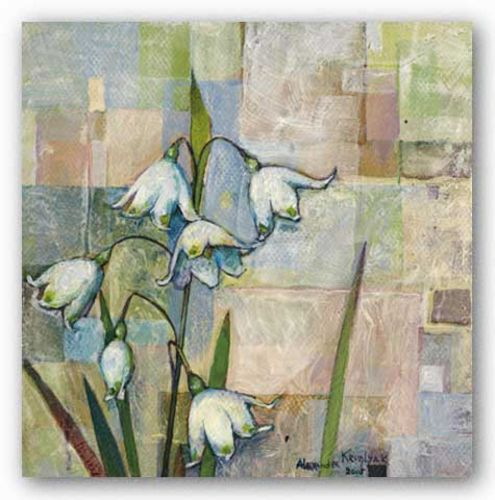 Snow Drops I by Alexandra Kruglyak