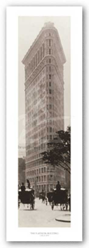 Flatiron Building, Fifth Avenue and 25th Street, circa 1902