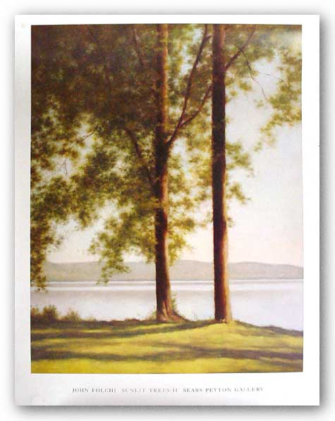 Sunlit Trees II, 2004 by John Folchi