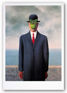 Son of Man by Rene Magritte