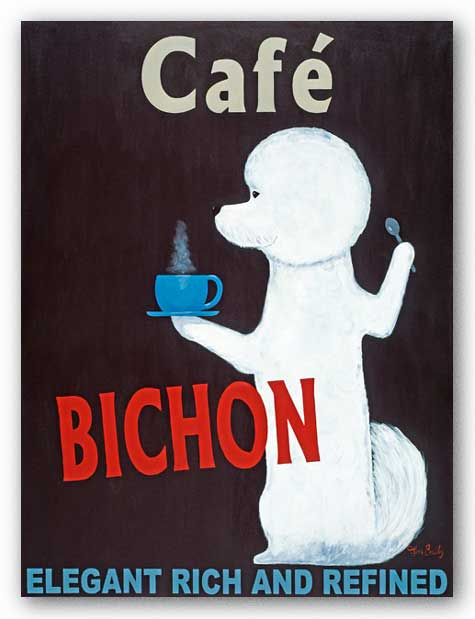 Bichon by Ken Bailey