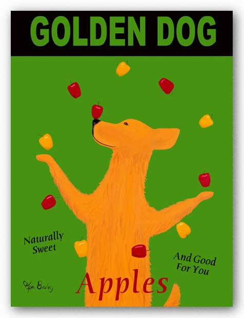 Golden Dog by Ken Bailey