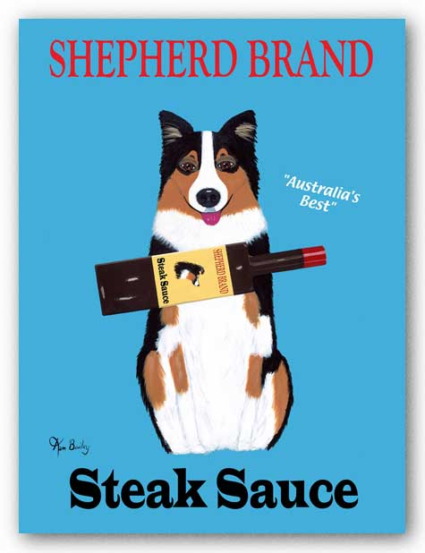 Shepherd Brand Steak Sauce by Ken Bailey