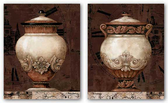 Timeless Urn Set by Pamela Gladding
