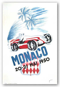 Monaco Grand Prix 1950 by B. Minne