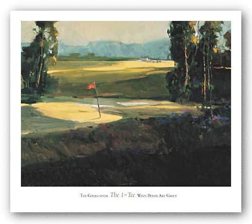 The 1st Tee by Ted Goerschner