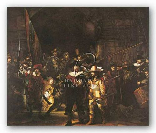 Night Watch by Rembrandt Harmenszoon van Rijn
