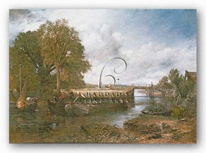 View on the Stour near Dedham by John Constable