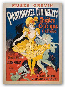 Pantomimes Lumineuses by Jules Cheret