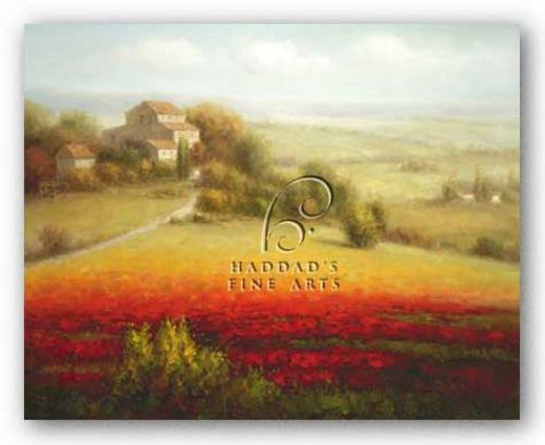 Fields of Red and Gold I by Eugene LaPorte