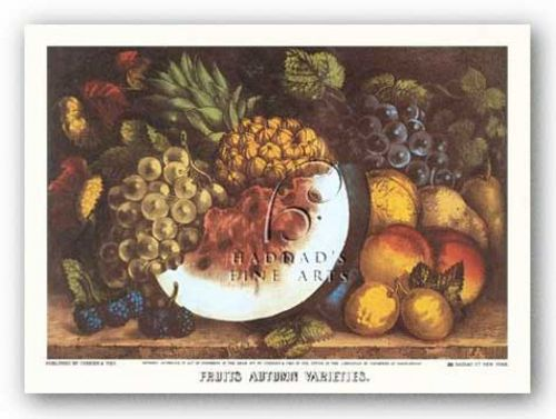 Fruits Autumn Varieties by Currier and Ives