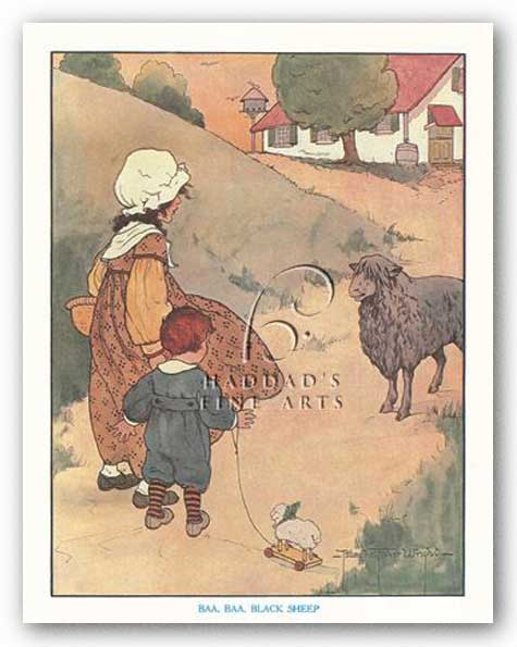 Baa, Baa, Black Sheep by Blanche Fisher Wright