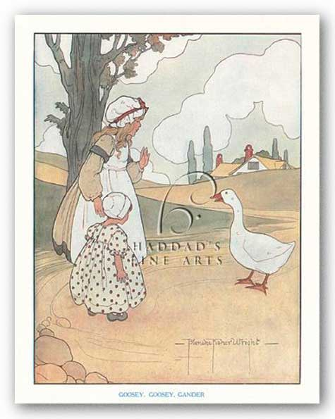 Goosey, Goosey, Gander by Blanche Fisher Wright