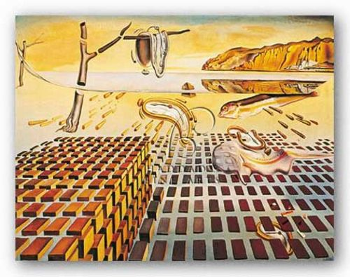 Disintegration of Persistence of Memory by Salvador Dali