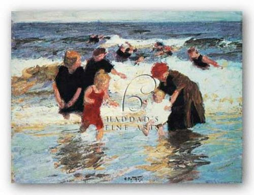 Bathers by Currier and Ives